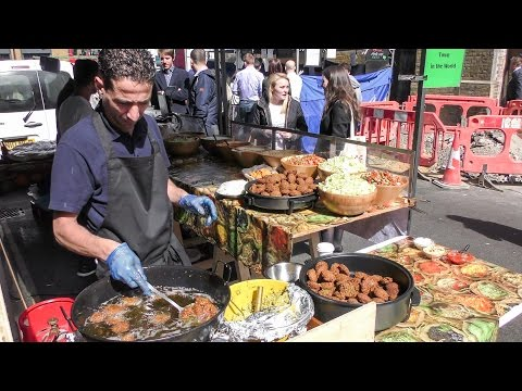 Xxx Mp4 KING Of FALAFEL Street Food From The Middle East In London 3gp Sex