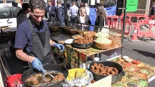 KING of FALAFEL. Street Food from the Middle East in London