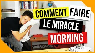 ⏰[Miracle Morning France] Se lever tôt facilement (26/26)