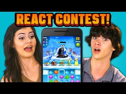 TEENS REACT CONTEST Be on the show