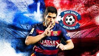 Luis Suárez's 10 best goals in the 2015/16 season