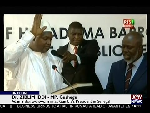 Gambia's Political Crisis - Todays Big Story on Joy News (19-1-17)