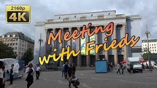 Meeting with Friends in Stockholm - Sweden 4K Travel Channel