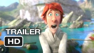 Justin and the Knights of Valour TRAILER 1 (2013) - Saoirse Ronan, Antonio Banderas Movie HD