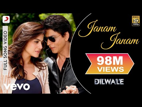 Janam Janam - Dilwale | Shah Rukh Khan | Kajol | Pritam | Arijit | Full Song Video
