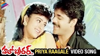 Hello Brother Movie Songs | Priya Raagale Video Song | Nagarjuna | Ramya Krishna | Soundarya