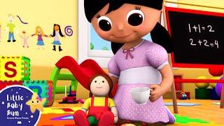 Miss Polly Had a Dolly | Nursery Rhymes | By LittleBabyBum!