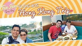 [Fun Fun Tyang Amy] Vlog 15 : Anniversary Trip in Hong Kong