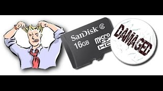 How To Repair A Corrupted SD Card or USB Flash Drive ( English )