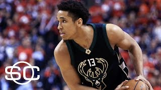 Stephen A. Smith Picks Malcolm Brogdon For Rookie Of The Year | SportsCenter | ESPN