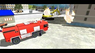 911 Rescue Fire Truck - Android Game