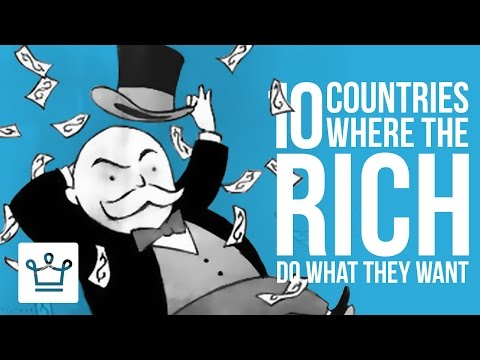 10 Countries Where Rich People Can