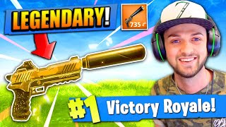 *NEW* LEGENDARY PISTOL in Fortnite: Battle Royale!