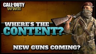 Wheres the CoD WW2 Content? | New Guns & Event Coming Soon?
