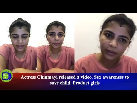 Xxx Mp4 Actress Chinmayi Released A Video Sex Awareness To Save Child Product Girls Reena TV 3gp Sex