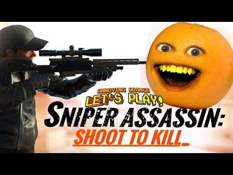 Annoying Orange Plays - Sniper 3D