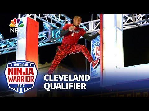 Najee Richardson at the Cleveland Qualifiers American Ninja Warrior 2017