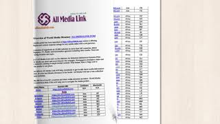World Media Directory All Media Link In A Brief :)