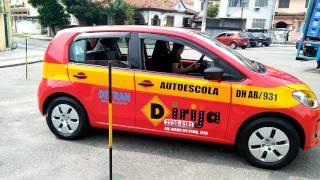 Baliza carro UP - instrutor Jadson Maciel Autoescola Dirija