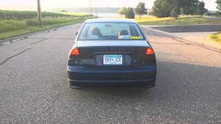 2002 Honda Civic Exhaust
