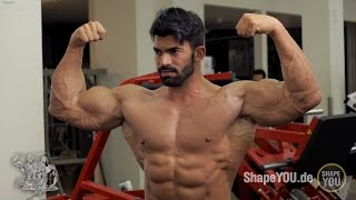 Sergi Constance and Alon Gabbay - Triceps/Biceps Workout #BeLEGEND