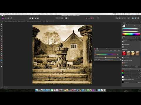 Affinity Photo Tutorial: Create a Sepia Effect and More...