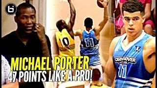 Michael Porter Jr DROPS 47 Points at Jamal Crawford