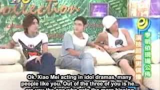 Mike He/Joe Cheng discuss kissing co-stars