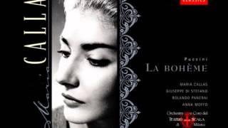 Quando M'en Vo -  Musseta-Anna Moffo, Mimi-Callas (HQ)