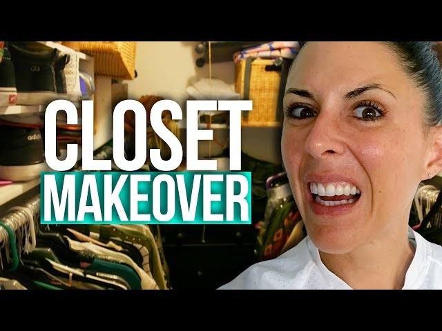 Joslyn's Mind-Blowing Closet MAKEOVER!! (Beauty Break)