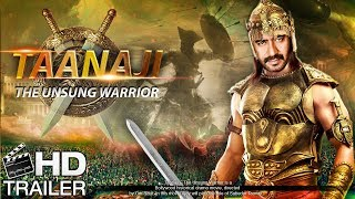 Tanaji Movie Trailer - The Unsung Warrior | Ajay Devgan Upcoming Movie