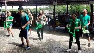 UA Teambuilding - The Yell ( green team)