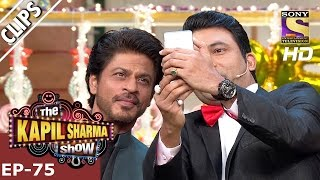 Chandu's selfie with King Khan  - The Kapil Sharma Show – 21st Jan 2017