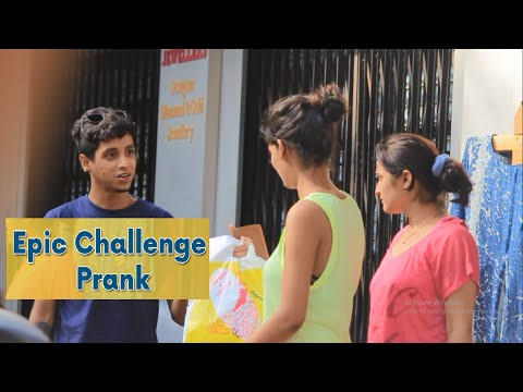 Epic Challenge Prank | Super Desi Pranks ( Pranks In India)