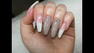 Babyboomer Nails with Nude [GEL NAILS]