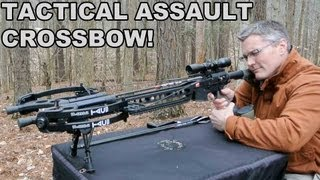 Tactical Assault Crossbow! PSE TAC15 Upper for the AR15