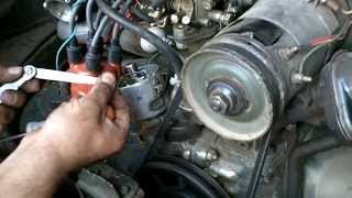 VW Aircooled Setting Ignition timing and points