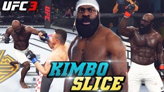 KIMBO SLICE Is In UFC 3! Insane Power and Knock Outs! EA Sports UFC 3 Online Gameplay