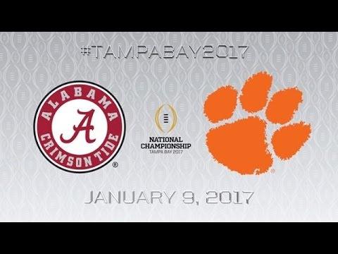 2017 NATIONAL CHAMPIONSHIP TRAILER ᴴᴰ 1 Alabama Crimson Tide vs 2 Clemson Tigers