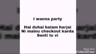 Party Nonstop lyrics ft. Jasmine Sandlas, IKKA, starring Evelyn Sharma