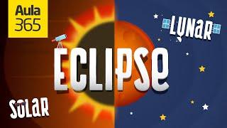 ¿Cuál es la diferencia entre un Eclipse Solar y un Eclipse Lunar?   Videos Educativos para Niños