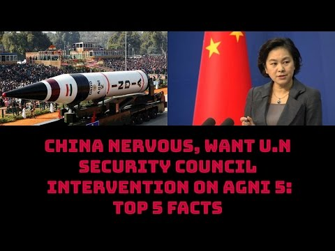 CHINA NERVOUS, WANTS U.N SECURITY COUNCIL