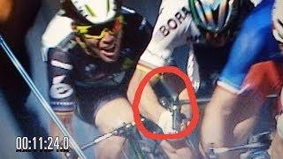 Forensic analysis of Sagan vs Cavendish Crash on Stage 4 TdF