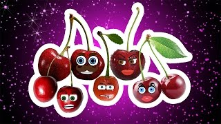 Fruits Finger Family Collection | Learn Fruits | Cherry Finger Family | Nursery Rhymes