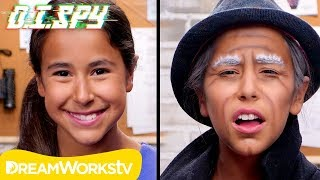 How to Disguise Yourself (DIY Old Man Makeup) | D.I.Spy