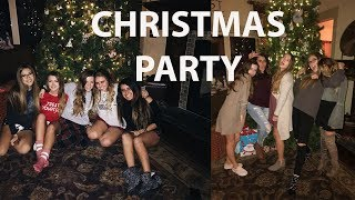 CHRISTMAS PARTY WITH MY FRIENDS & I SHATTERED MY PHONE