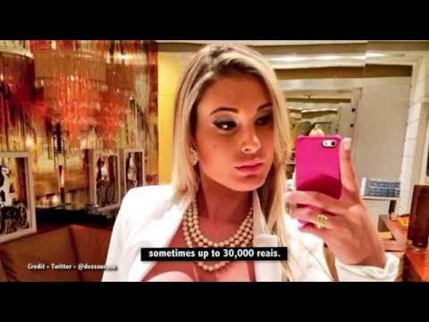 Exclusive interview with ex-call girl to the celebs, Andressa Urach, 28.10.15, Chrissy B Show