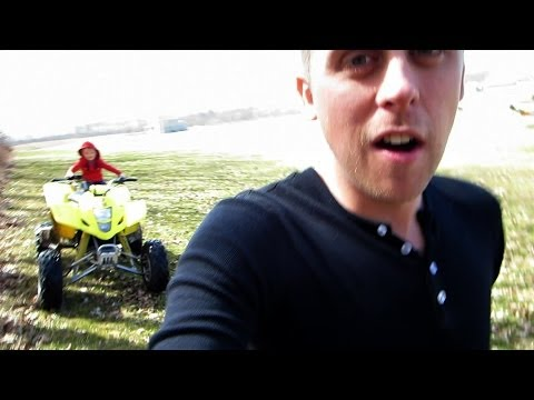 Crazy Baby On A Quad!! - Fake Title For More Views!!