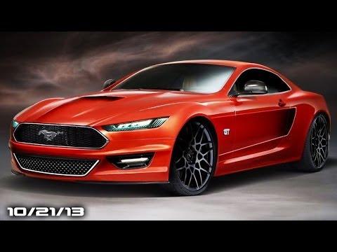 2015 Mustang Renderings, Nissan GT-86 Rival, Porsche Macan, Buick Diesels, & CoW!