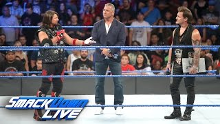 AJ Styles, Chris Jericho and Kevin Owens have a war of words: SmackDown LIVE, May 2, 2017